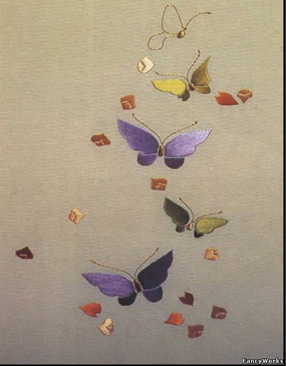 Рисунок для люневильской вышивки 660